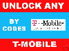 REMOTE UNLOCK ALL TMOBILE PHONES BY IMEI - unlock Code for Blackberry 8100 (pearl) 8300 (Curve), HTC Dash, Blackjack and more...