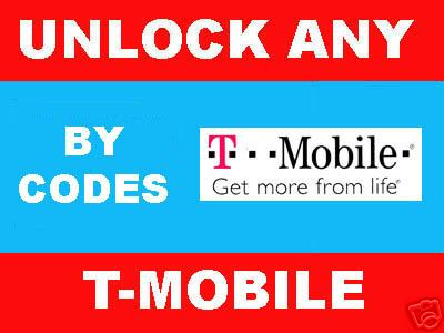 Product picture REMOTE UNLOCK ALL TMOBILE PHONES BY IMEI - unlock Code for Blackberry 8100 (pearl) 8300 (Curve), HTC Dash, Blackjack and more...